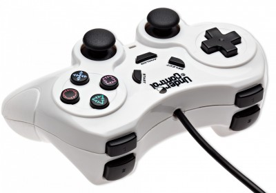 Shock Controller Under Control - white