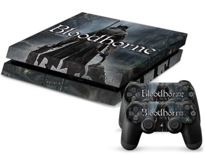 PS4 polep Bloodborne