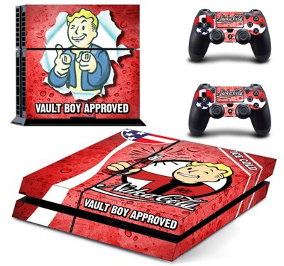 PS4 polep Vault Boy