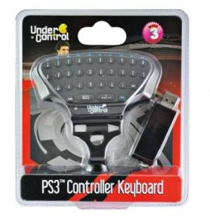 Controller Keyboard - klávesnica PS3