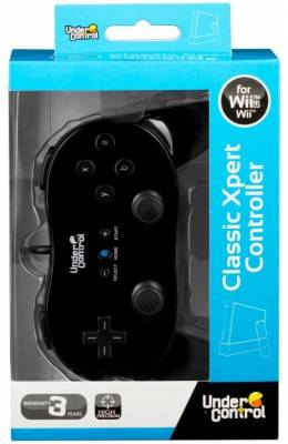 Wii Classic Controller Black Expert