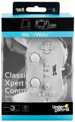 Wii Classic Controller White Expert