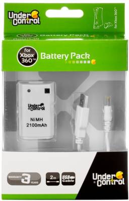 XBOX 360 Battery Pack - biely