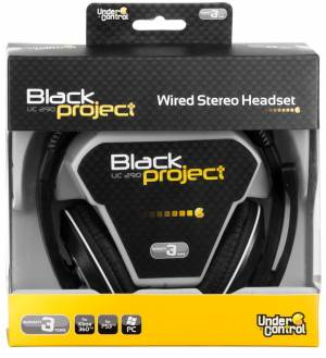 Wired headset pre X360 / PS3 / PC