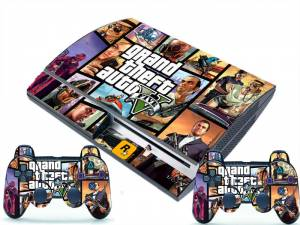 PS3 Fat polep GTA 5 v2
