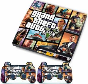 PS3 slim polep GTA 5 v2