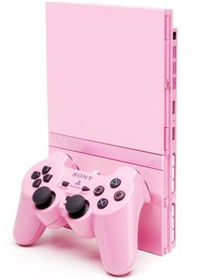 Playstation 2 Slim 70000 Pink