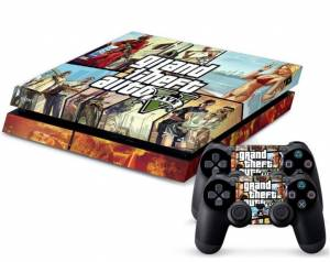 PS4 polep GTA 5