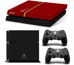 PS4 polep Metal Gear Solid