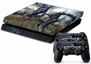 PS4 polep Witcher Boss