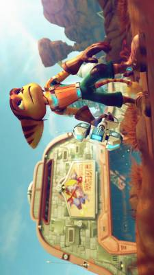 Plagát Ratchet and Clank