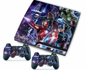 PS3 slim polep Avengers