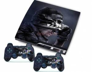PS3 slim polep COD Ghost