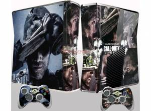Xbox 360 Slim polep COD Ghost face