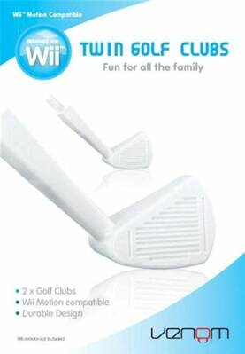 Wii Twin Golf Clubs