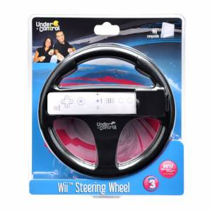 Wii Steering Wheel - čierny